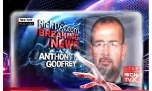 anthony godfrey Rich TVX News YouTube Printscreen